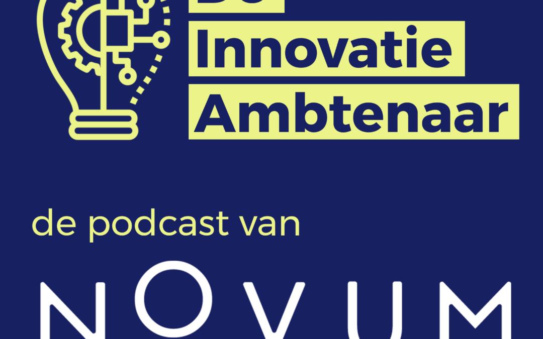 Eerste aflevering podcast de Innovatie Ambtenaar nu te beluisteren